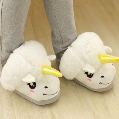 pantofole unicorno - san valentino